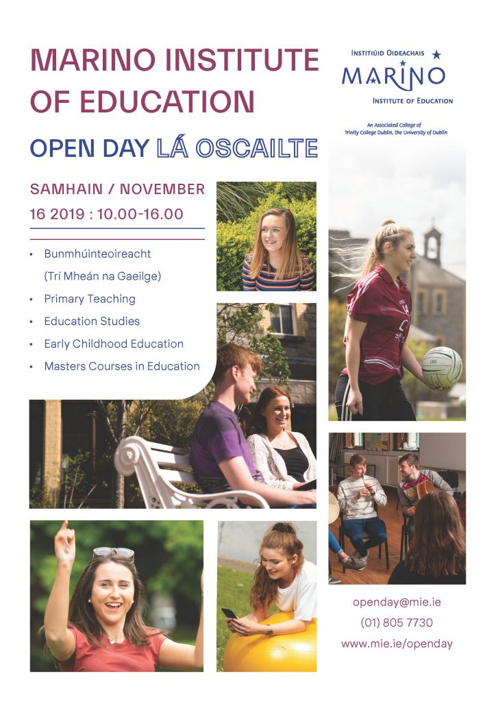 Marino Open Day Poster Final Page 1