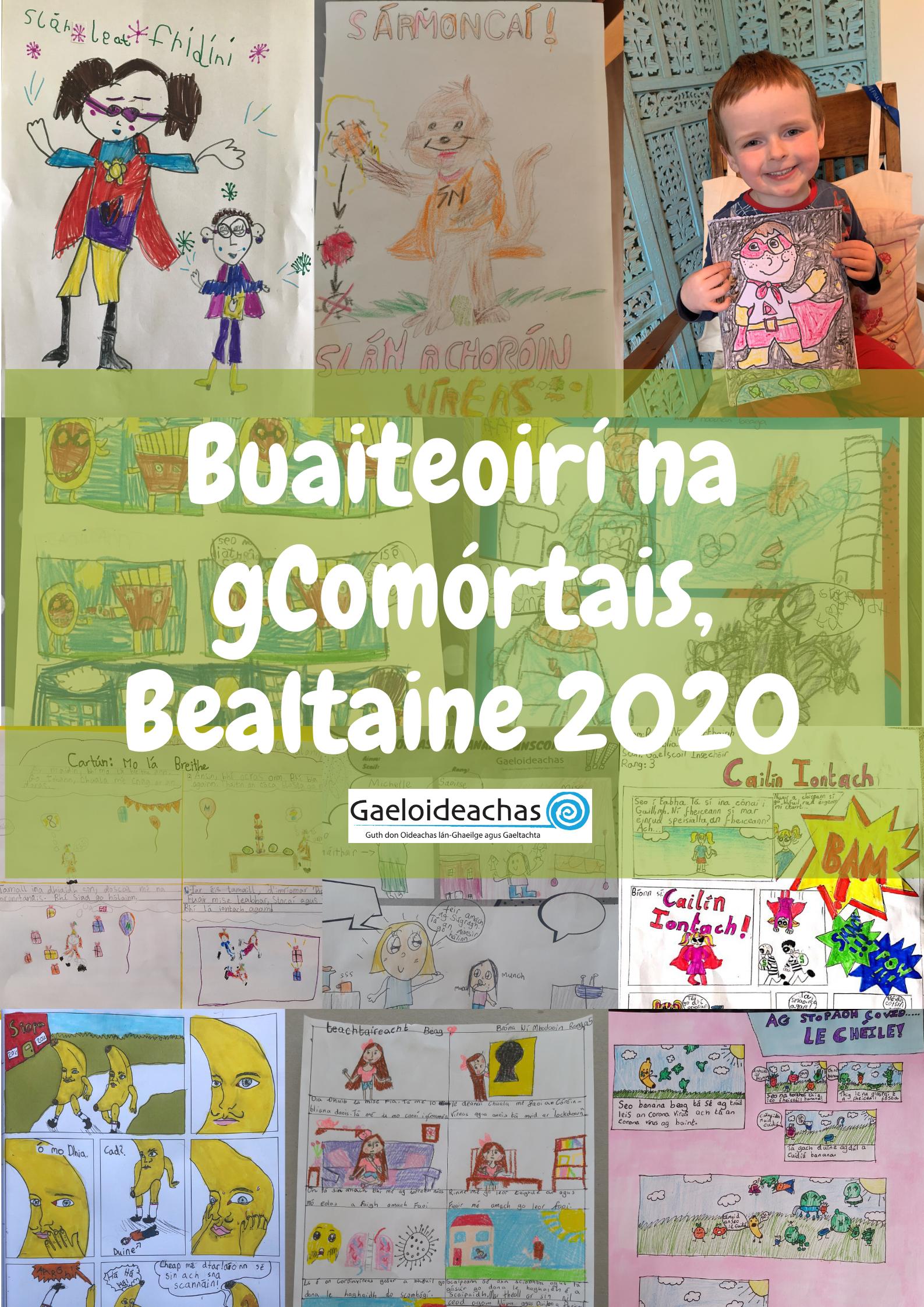 Buaiteoirí na gComórtais, Bealtaine 2020