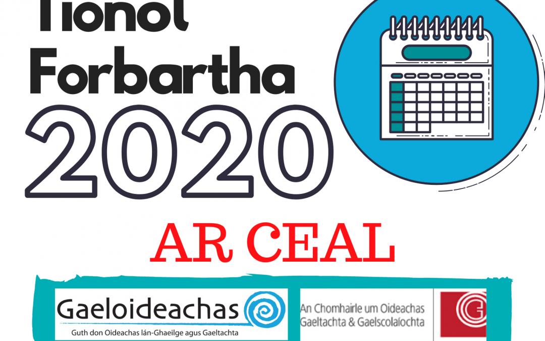 Preasráiteas: Tionól Forbartha 2020 ar Ceal