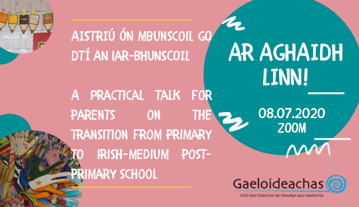 Transition to Post-Primary School: A Talk for Parents