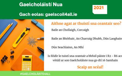 Gaelcholáistí Nua 2021