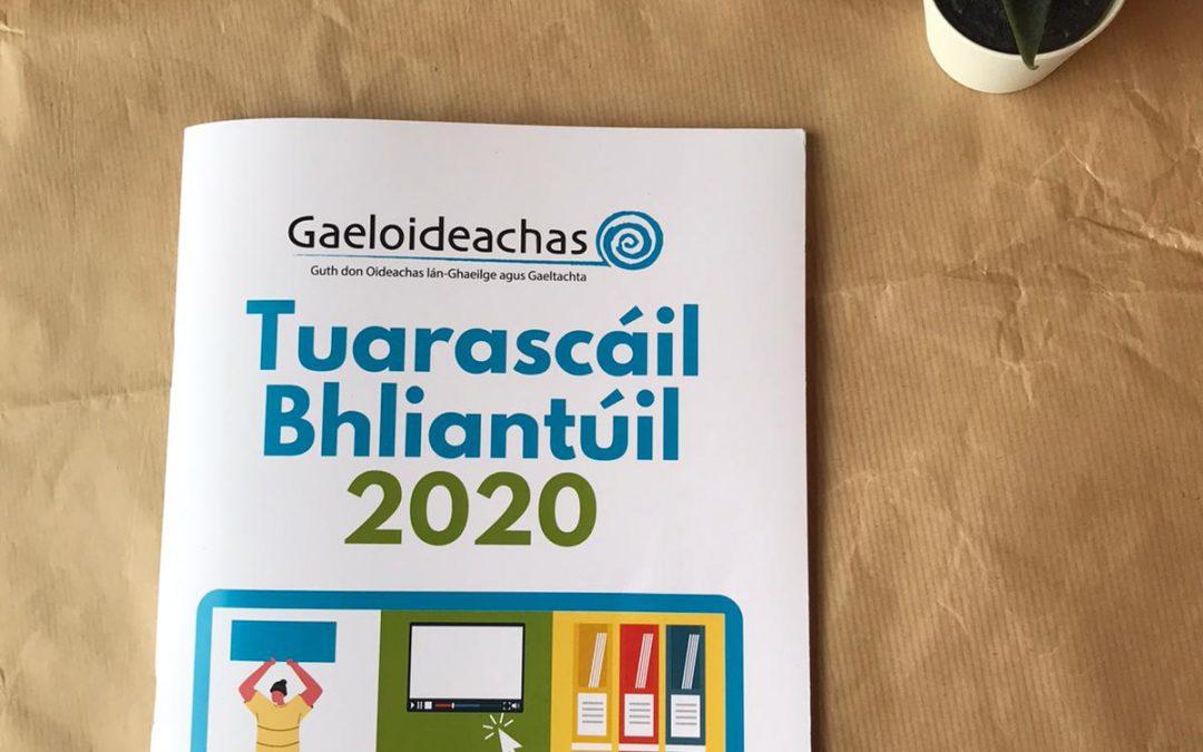 Tuarascáil Bhliantúil 2020