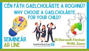 Cén fáth Gaelcholáiste a roghnú?